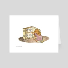 Better Bedrooms - Art Card by Kate Glasheen