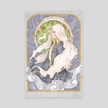 Alucard Art Nouveau - Canvas by Ranefea
