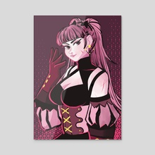Hilda II - Acrylic by barfchan