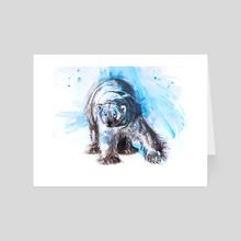Polar Bear  - Art Card by Crystal Smith