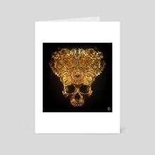 Skeletal Crown I - Art Card by Billelis