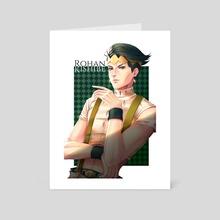 Kishibe Rohan 2 - Art Card by Anna