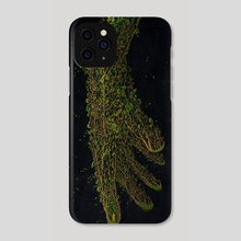 Find Me in the Woods - Phone Case by David Curtis