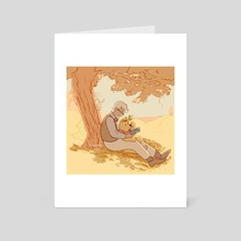 Rest - Art Card by Gil