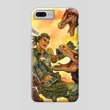 Knife Charge - Phone Case by John Petersen