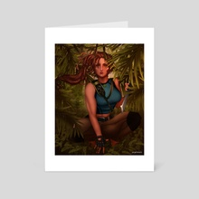 Tomb Raider - Art Card by jas sparks