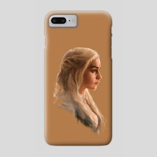 Game of Thrones - Daenerys Targaryen - Phone Case by Firat Bilal