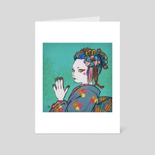 Gratitude  - Art Card by Miacomart