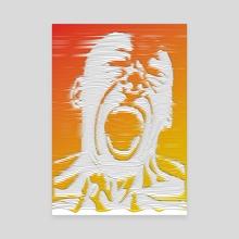 Roar - Canvas by Ayomidotun Freeborn