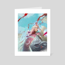 Throne - Art Card by Carlo Marcelo