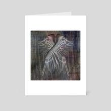 Wings - Art Card by Bruce Rolff