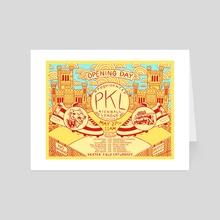 PKL Season 16 Week 1 - Art Card by Dan Freitas