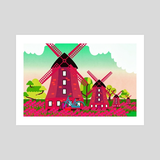 Windmill 9 by Michal Eyal