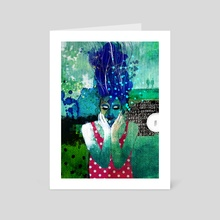 Goodnight - Art Card by Alessandro Andreuccetti
