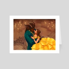 Beauty and the Beast - Art Card by Christy Tortland
