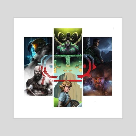 Video game icons  by Rodney  Amirebrahimi