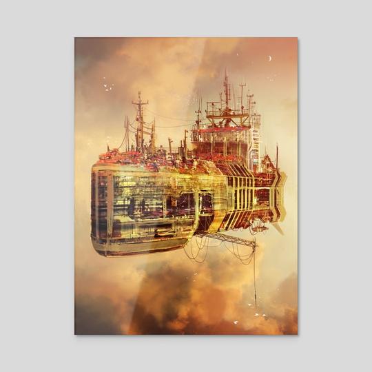 The City Ship by Maciej Rebisz