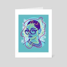 Rosebud - Art Card by Matt Schroeter