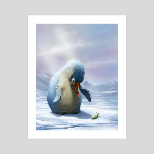 Mutated Penguin by Bobby Rebholz