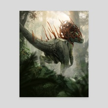 Infested Raptor - Canvas by Marcel Nowotny