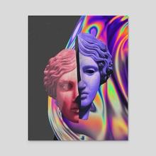 Dissociation - Malavida x Dorian Legret - Acrylic by Dorian Legret