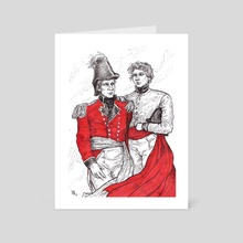 Grant and De Lancey - Art Card by Darina Nossova