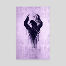 Bloodborne *Hunter's Mark* - Canvas by SucculentBurger