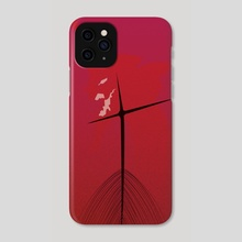 Neon Genesis Evangelion Fan Art - Phone Case by Marco Zavan