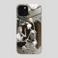 Let It All Out - Phone Case by Kiv Bui