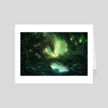 Forest Guardian - Art Card by Jorge Jacinto