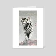 Tiger - 47 - Art Card by River Han