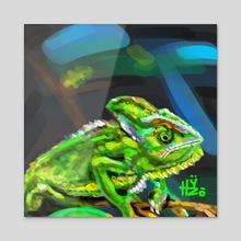 Chameleon  - Acrylic by HYZO