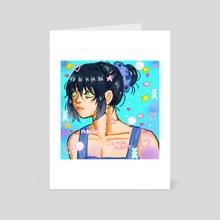 inosuke purikara - Art Card by Milky Milks