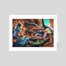 Ambush on Xolotl - Art Card by Gregory Stoffel