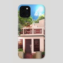 Megan's House Illustration - Phone Case by Ra Lu