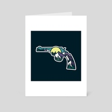 Straight Shooter  - Art Card by Jimmy Bryant