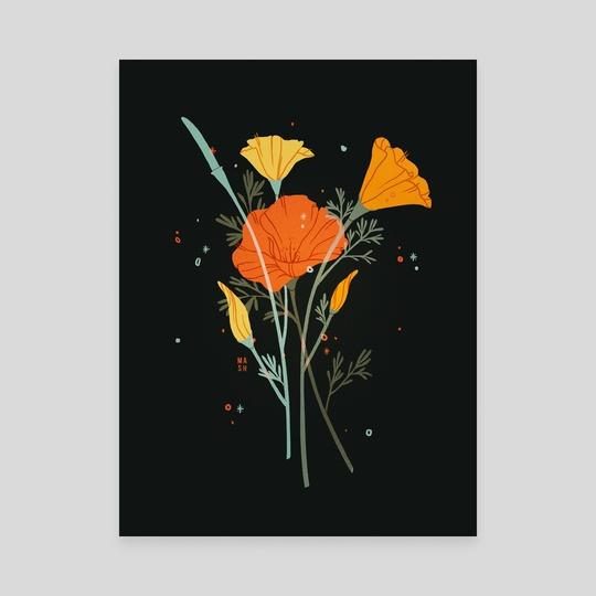 Poppies by Samantha Mash