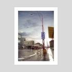 Street of Memories - Art Print by Marek Denko