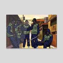 Section Ninjaz - Acrylic by Kiing Arthur