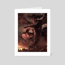 The Original Devil - Art Card by Ryan Lee