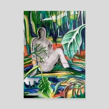 Meditation in Nature - Canvas by Kiara  Florez