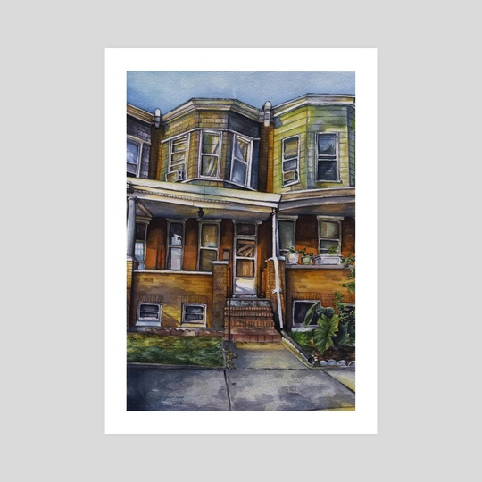 Baltimore Brownstone by Amanda Shaffer