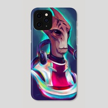 Neon Mordin... Had to be him - Phone Case by Shaya Fury