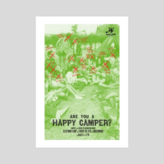 Are You A Happy Camper? by Rachel Goldfinger