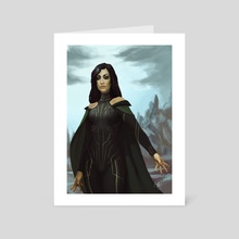 Hela - Art Card by Mali Ware