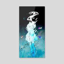 deep sea  - Acrylic by soresaki