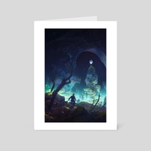 Secret Pond - Art Card by Tuomas Korpi