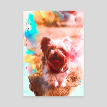 Yorkshire Terrier - Canvas by Visuals Artwork