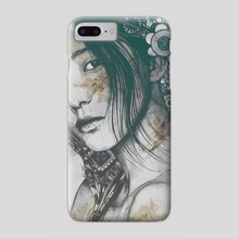 Stoic: Autumn - Phone Case by Marco Paludet