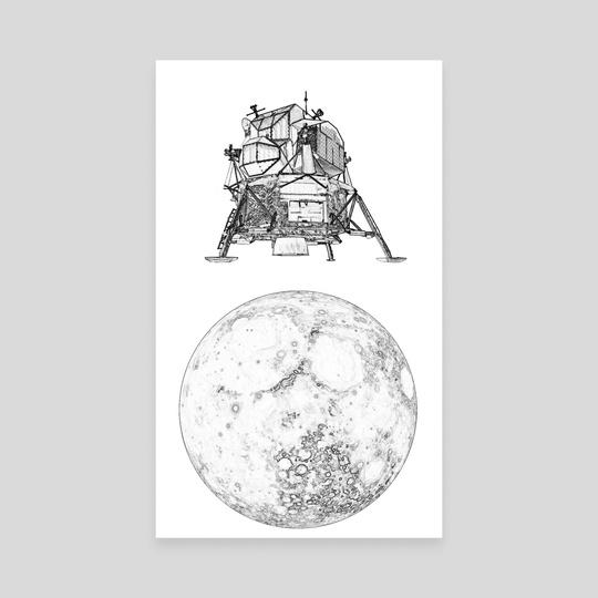 Lunar Lander by Calvin Arnold